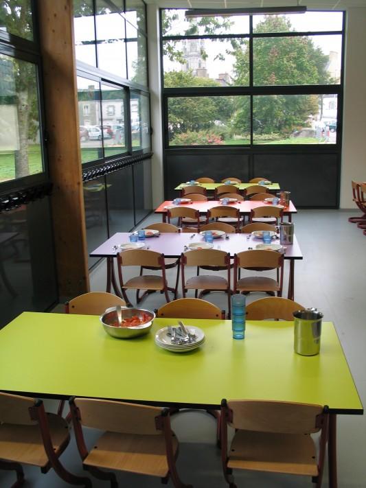 Salle polyvalente et restaurant scolaire de sainte anne d for Materiel salle restaurant